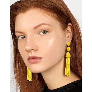 Bauble Bar Granita Beaded Earrings in Yellow